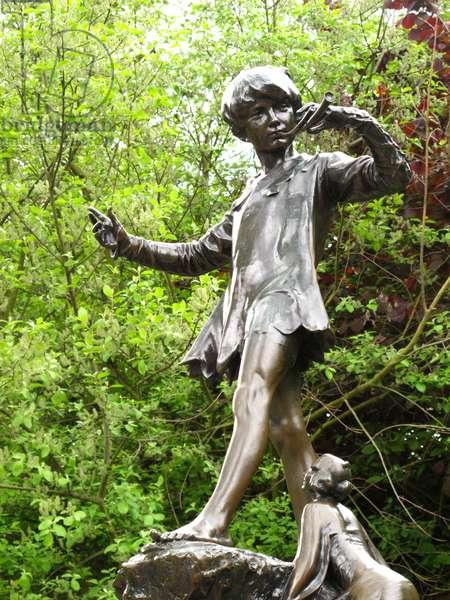 Peter Pan, 1912 (bronze)
