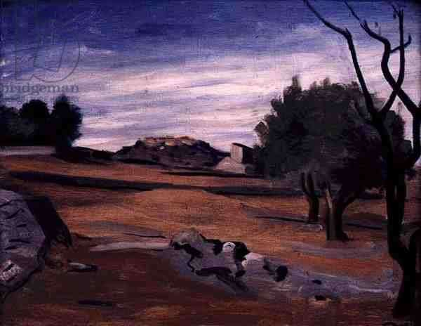 Landscape in Provence, c.1931 (oil on canvas)