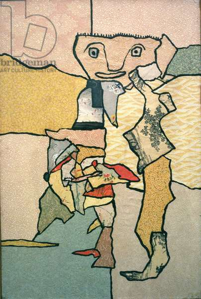 Figure, 1961 (collage)