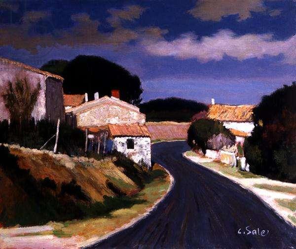Blayais, Gironde (oil on canvas)