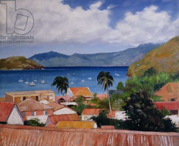 Les Saintes, Guadeloupe (oil on canvas)