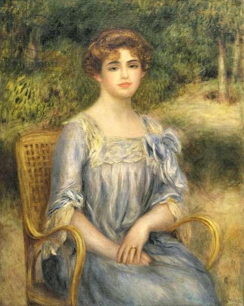 Madame Gaston Bernheim de Villers (1883-1961), 1901 (oil on canvas)