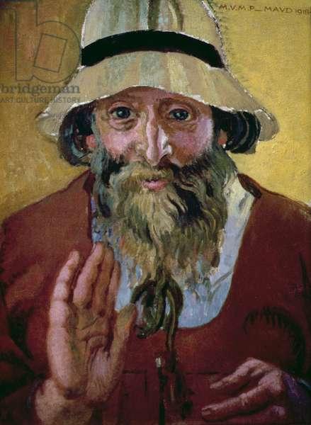 Portrait of Paul Serusier (1864-1927) 1918 (oil on board)