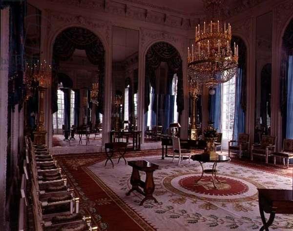The Salon des Glaces (Room of Mirrors) in the Grand Trianon, 1687 (photo)