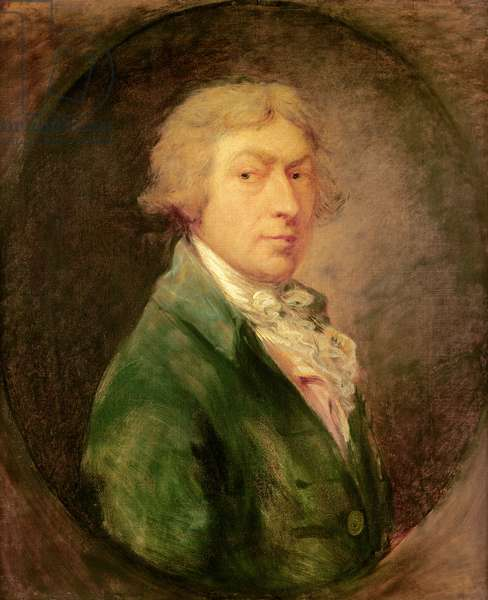 Self Portrait, 1787 (oil on canvas)