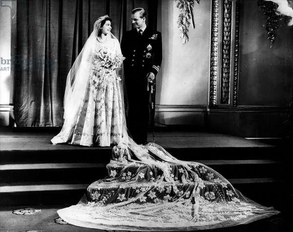 Princess Elizabeth II's wedding with Prince Philip, November 20, 1947 - The Wedding of Princess Elizabeth to Prince Philip, 20th November 1947