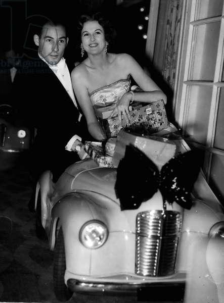 Jan. 01, 1955 - Stirling Moss Attends Ball