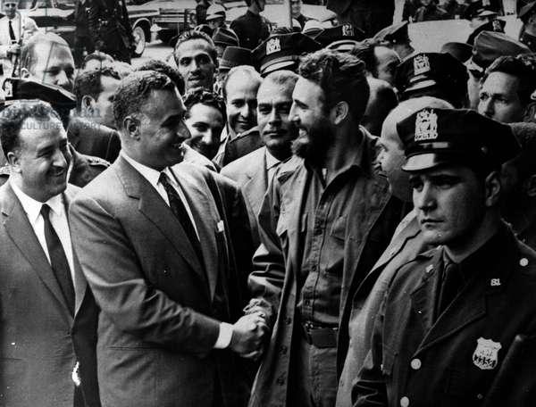 April 01, 1959 - U.S. - FIDEL ALEJANDRO CASTRO RUIZ (born August 13, 1926), during a visit to the U.S
