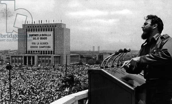 Havana, Cuba; (Exact Place and Date Unknown) FIDEL ALEJANDRO CASTRO RUIZ (born August 13, 1926)