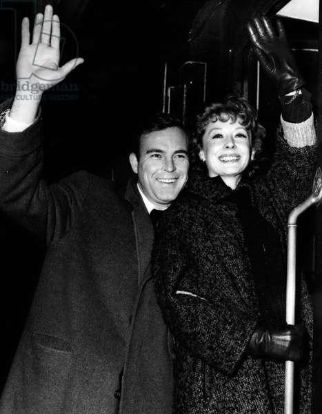 Jan. 01, 1955 - Off To U.S.A. Scott Brady