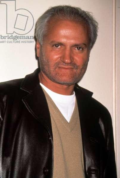 Portrait of Gianni Versace in 1996
