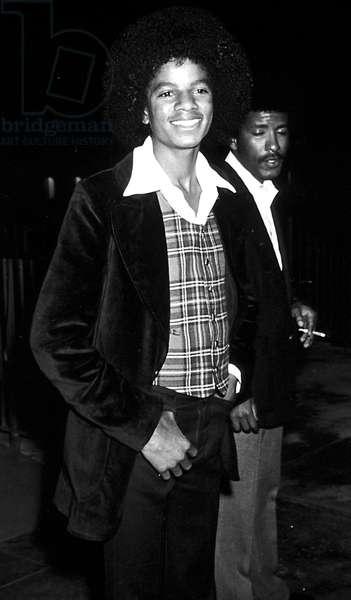 Portrait of Michael Jackson in 1973