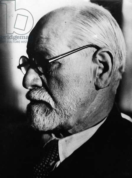 1935 portrait of Sigmund Freud