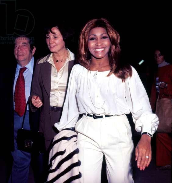Portrait of Tina Turner in 1974