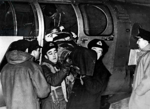 Jan. 01, 1955 - Operation Snowdrop Planes In Rescue Work In Snowbound Scotland: The Navy and R.A.F. were equal to the many relief call which were pouring in last night from snowbound villages in Northern Scotland. Naval and Air Forces planes flew over Scotland's desolate wastes all day yesterday, delivering food, evacuating the sick and seeking out S.O.S. messages in the snow
