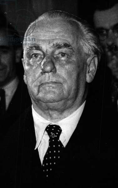 Jan. 01, 1955 - Wilhelm Pieck Seriously ill: As the Soviet News Agency ADN announces, the East Germany Prime Minister Wilhelm Pieck (Wilhelm Pieck) is dangerously ill and is even said to be dying