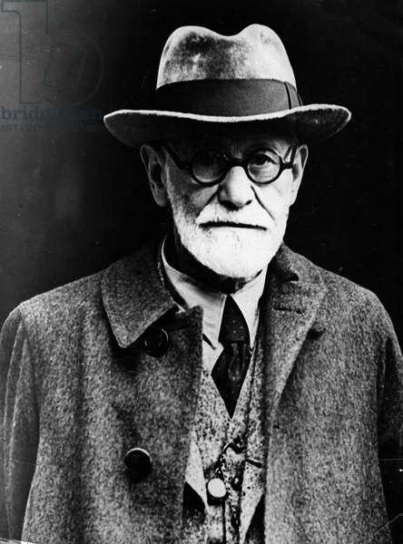 Annees 1930 portrait of Sigmund Freud