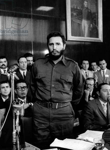circa 1960s. FIDEL ALEJANDRO CASTRO RUIZ (born August 13, 1926)